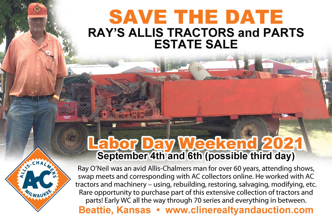 Ray Allis Tractor Sale and Parts Auction